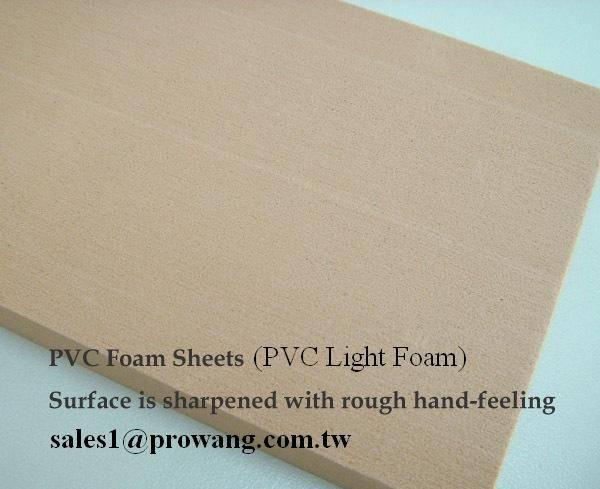 PVC Light Foam Sheets - Composite core materials