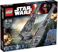 WHOLESALE Lego Star Wars 75104 Kylo Rens Command Shuttle Set