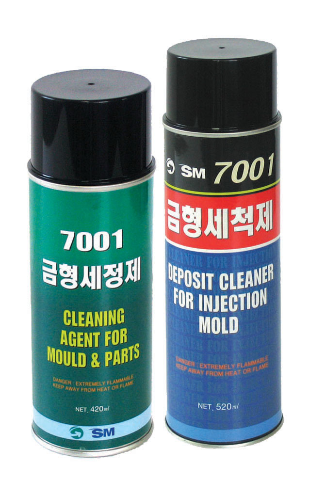 Aerosols_SM-7001 / CLEANING AGENT FOR MOLD AND PARTS