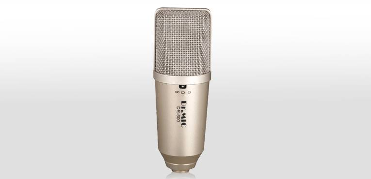DR.MIC Large Diaphragm Recording Condenser Microphone DR-600