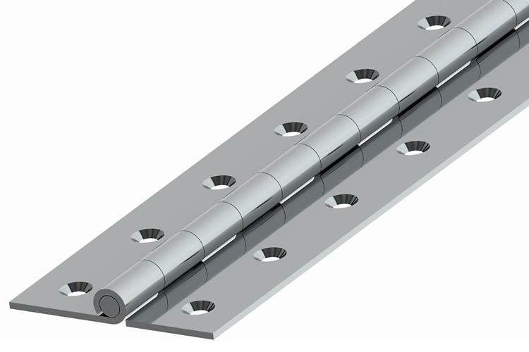 Stainless Steel Continuous(Piano) Hinges- PBM3207 D