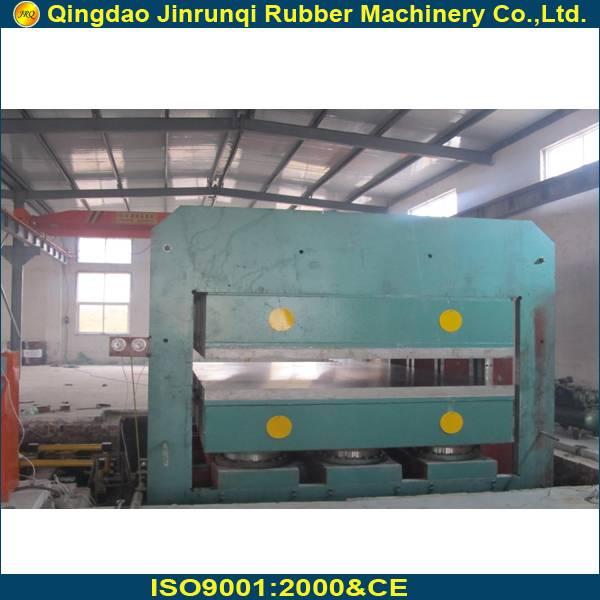 large rubber vulcanizing press
