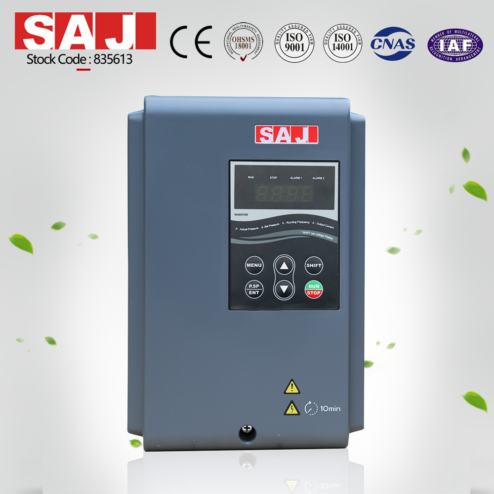 SAJ High Performance Single Phase To Three Phase Inverter 0.75-2.2kW