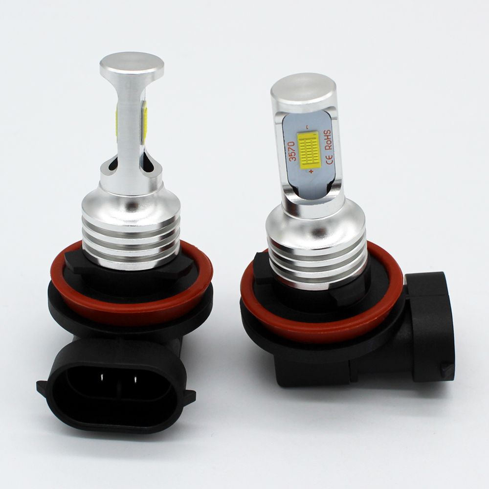 Extreme Super Bright H10 9145 Fog Light Lamp Replaceme 80W Cree 12V LED 9145 Bulbs