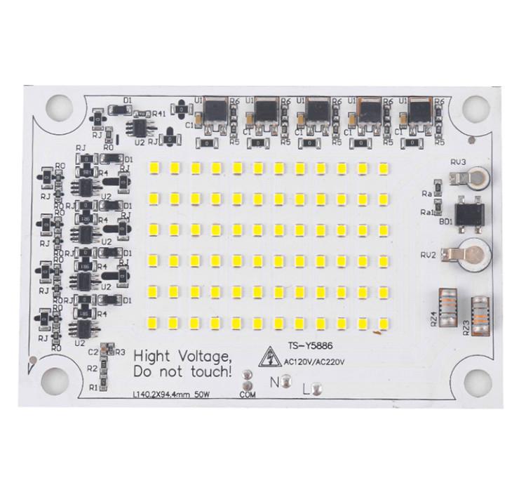 good price 30W 50W 100W 150W 200W 300W flood light driverless with high efficiency surge protection