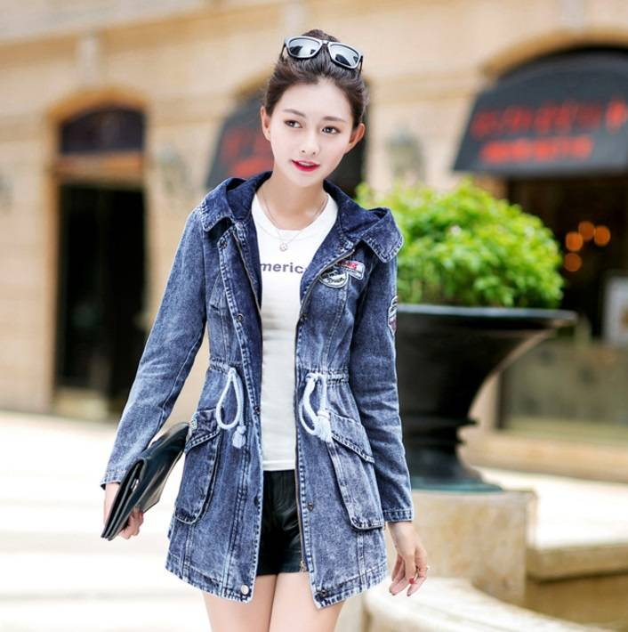 denim coat