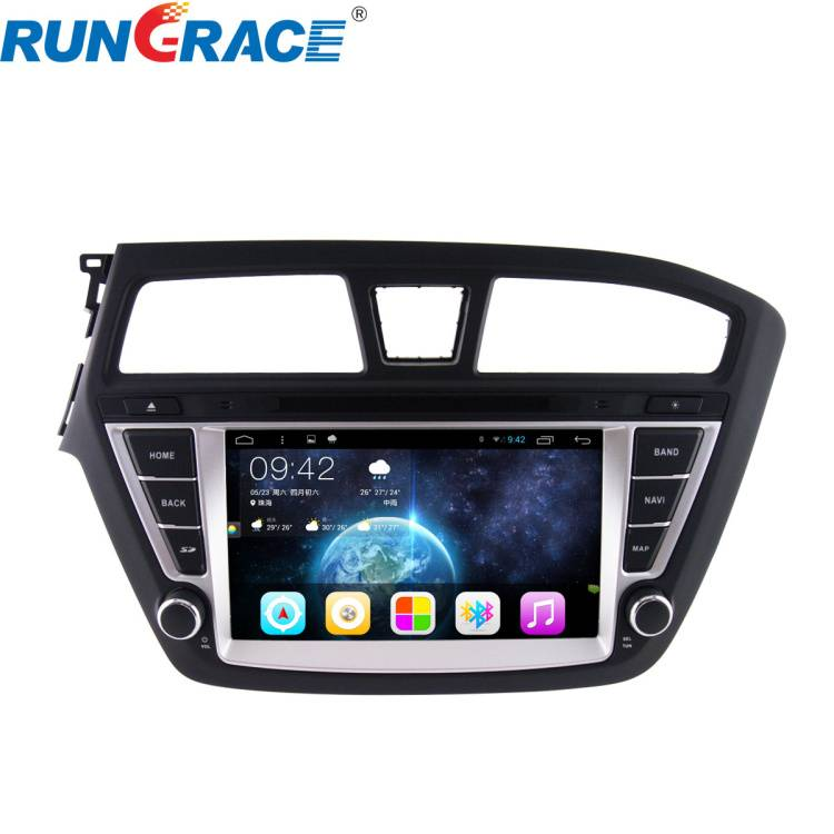 car multimedia player for Hyundai I20 2015 touch screen car dvd radio 2 din android with bluetooth A
