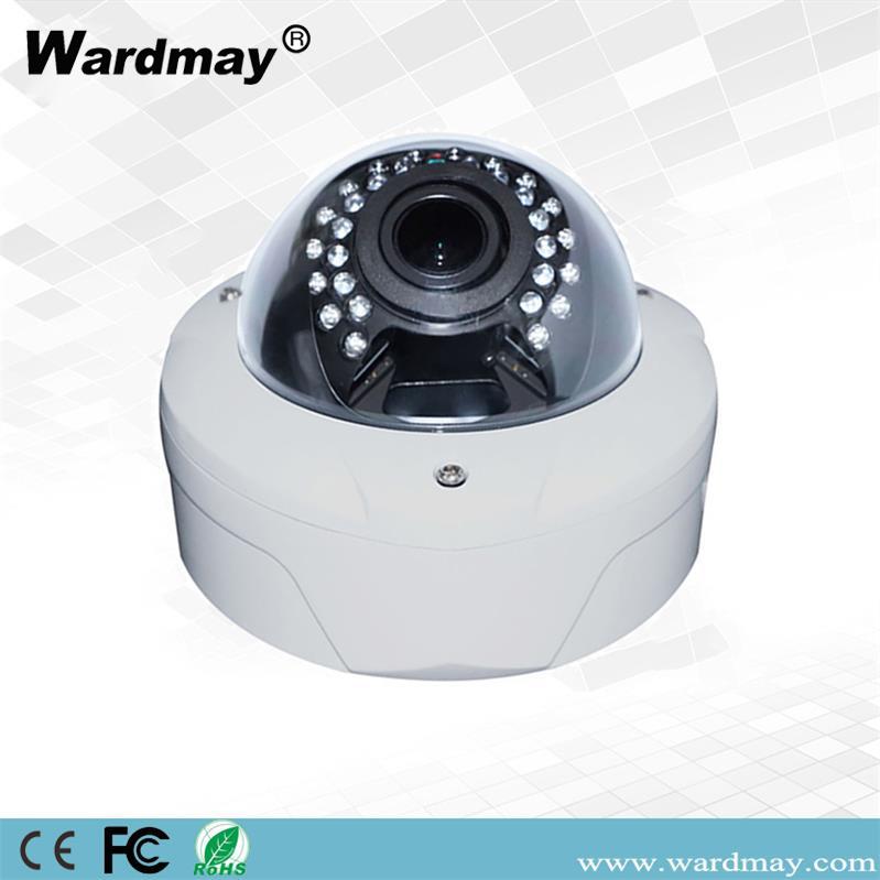 8MP 4K 80dB WDR H. 265 Ik10 Vandal Resistant CCTV Dome Network IP Camera