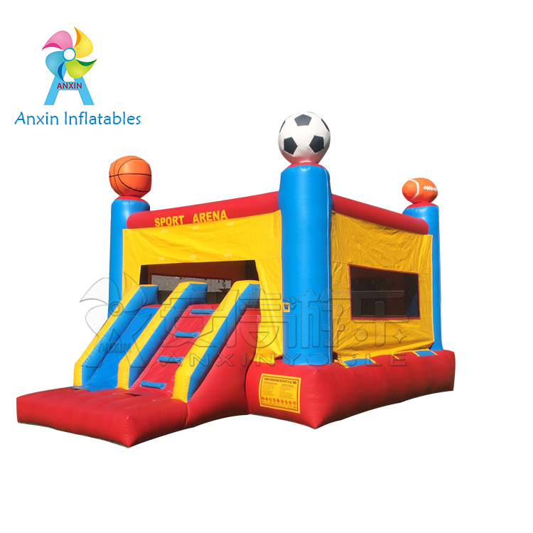 Inflatable mini castle outdoor jumping castle, bouncers for Children playing
