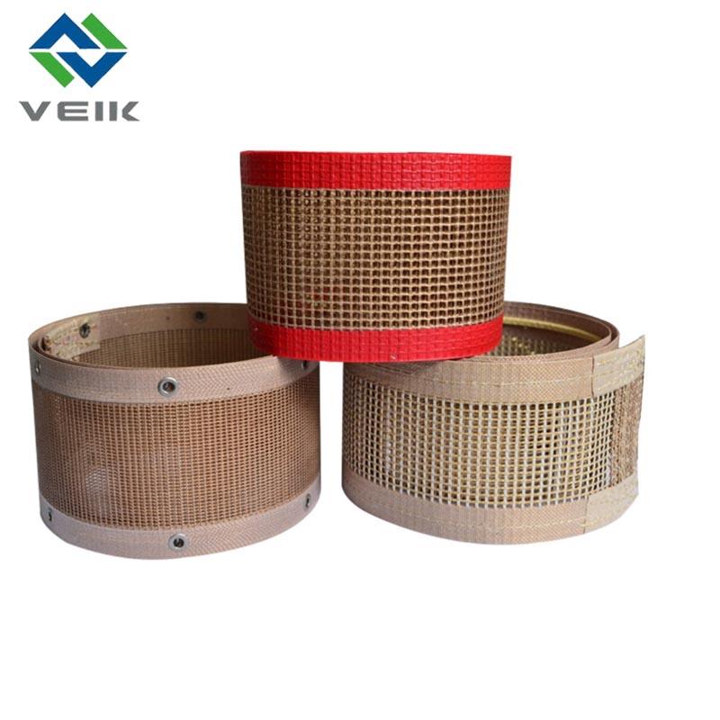 PTFE coated fiberglass mesh belt