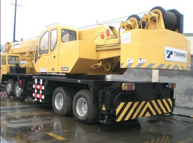 Used Tadano japan truck Crane GT-550E +8618221102858