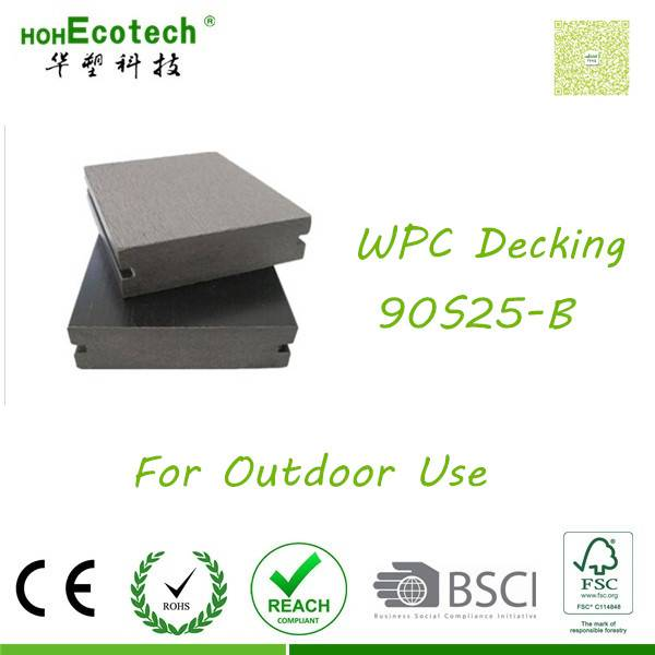 sythenic wpc wood-like plank durable easy composite decking