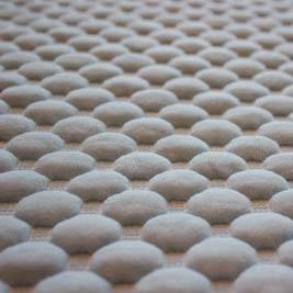 polyester/cotton knitted mattress fabric