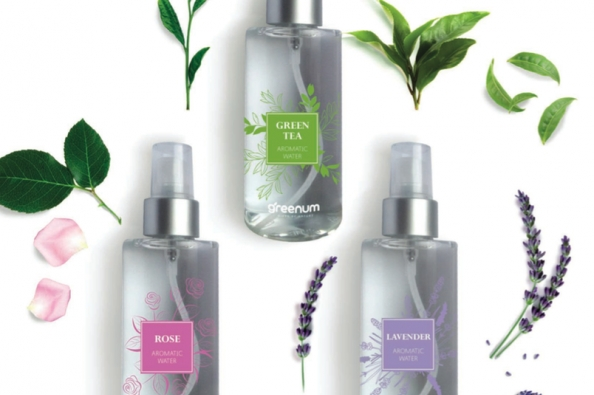 Face Floral Water 100% Natural Cosmetic Product Rose Lavender Green Tea