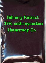 Bilberry & Bilberry extract