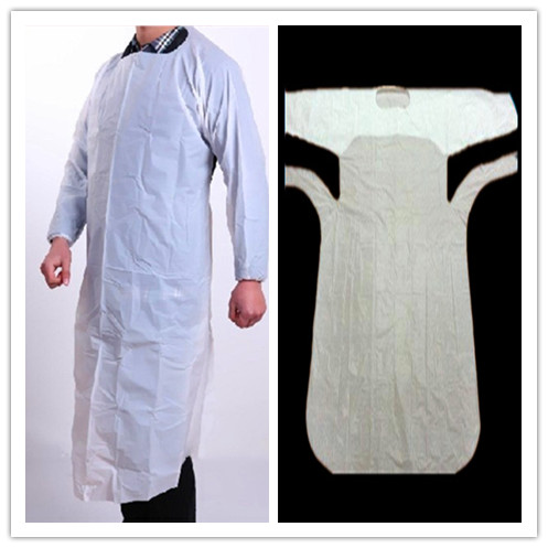 Disposable Medical PE Gown