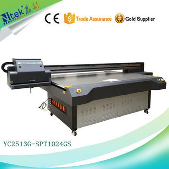 Factory supply high precision digital canvas printing machine,UV Flatbed printer with best price in