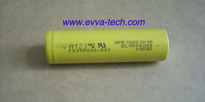 A123 18650 Battery cell APR18650M1 1100mAh