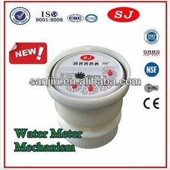 Water Meter Mechanism for Multi Jet Dry Type