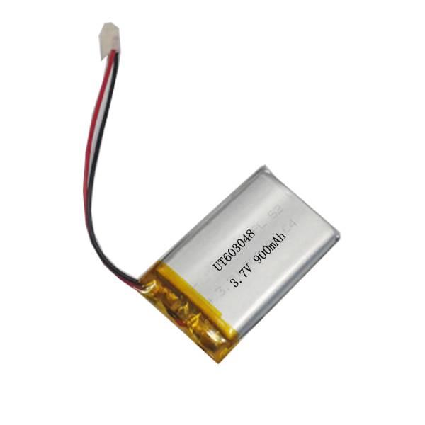 CE ROSH Lithium battery manufacturer li-polymer battery 603048 3.7V 900mAh