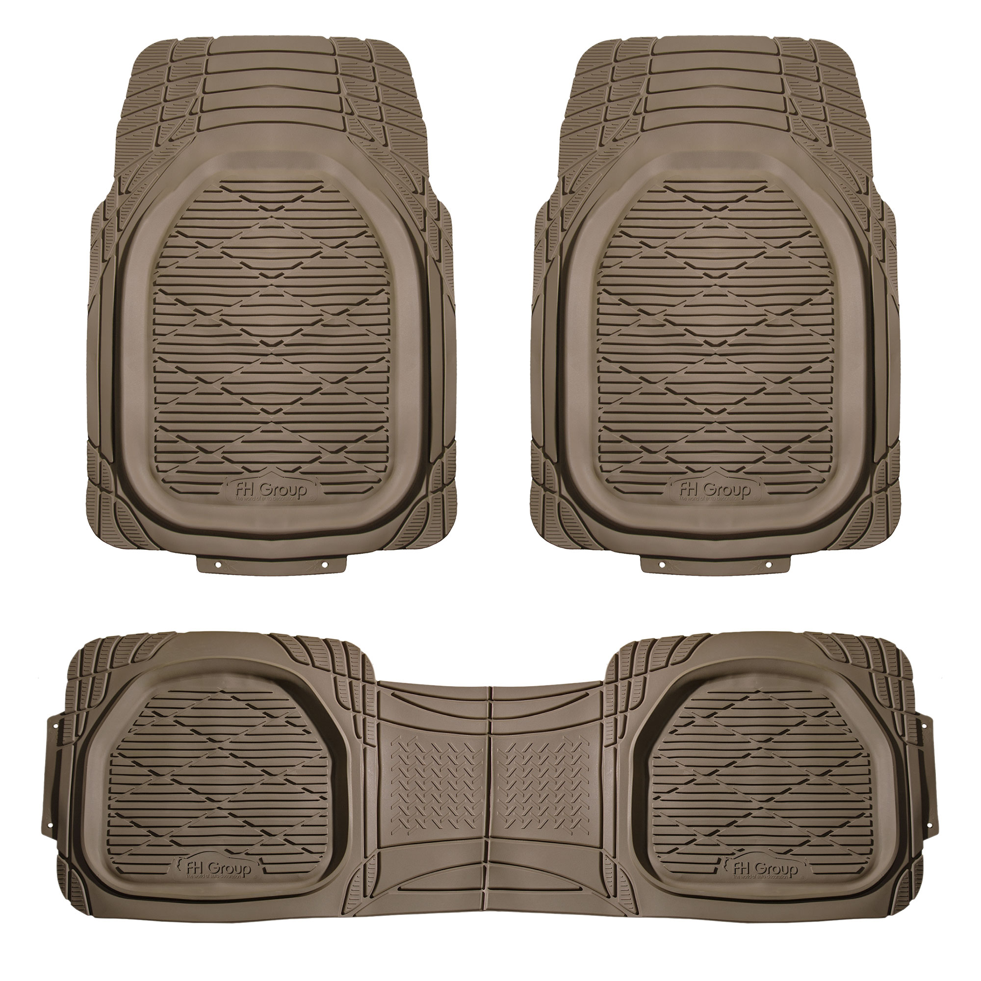 Trimmable Deep Tray Rubber Floor Mats