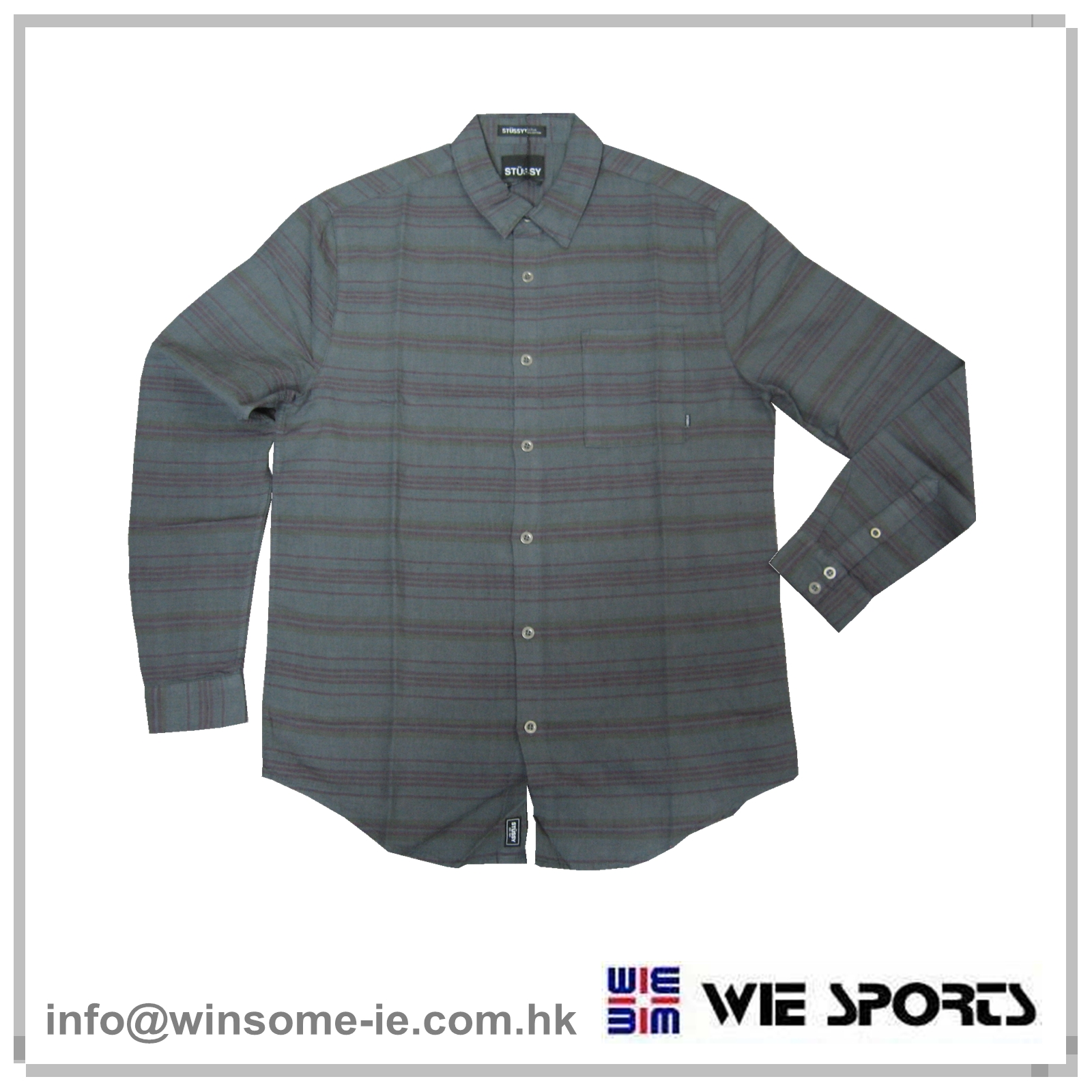 Causal woven shirt
