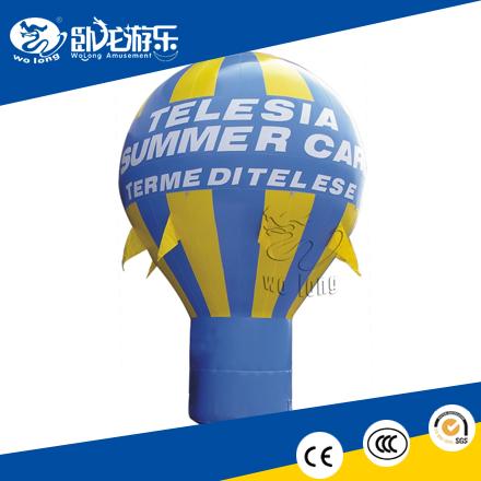 Inflatable balloon, inflatable advertising balloon