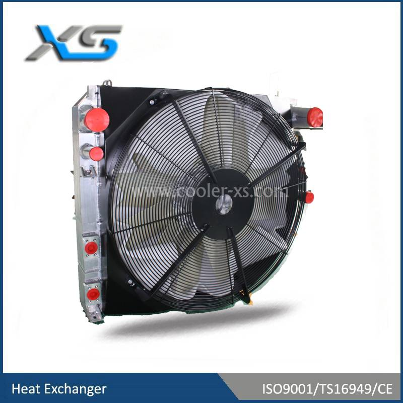 garden machinery heat exchanger