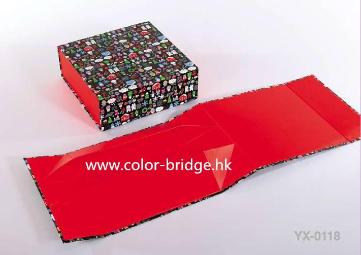 Customizing Folded Cardboard Paper Gift Box Jewelry Box