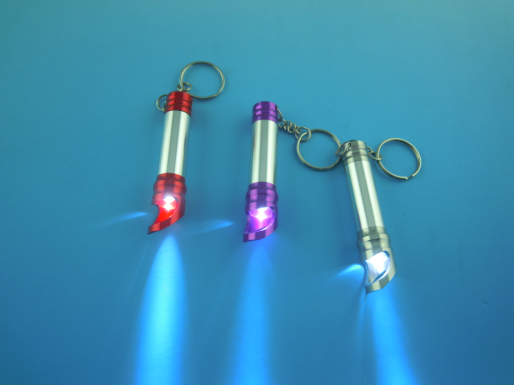 led torch with bottle opener