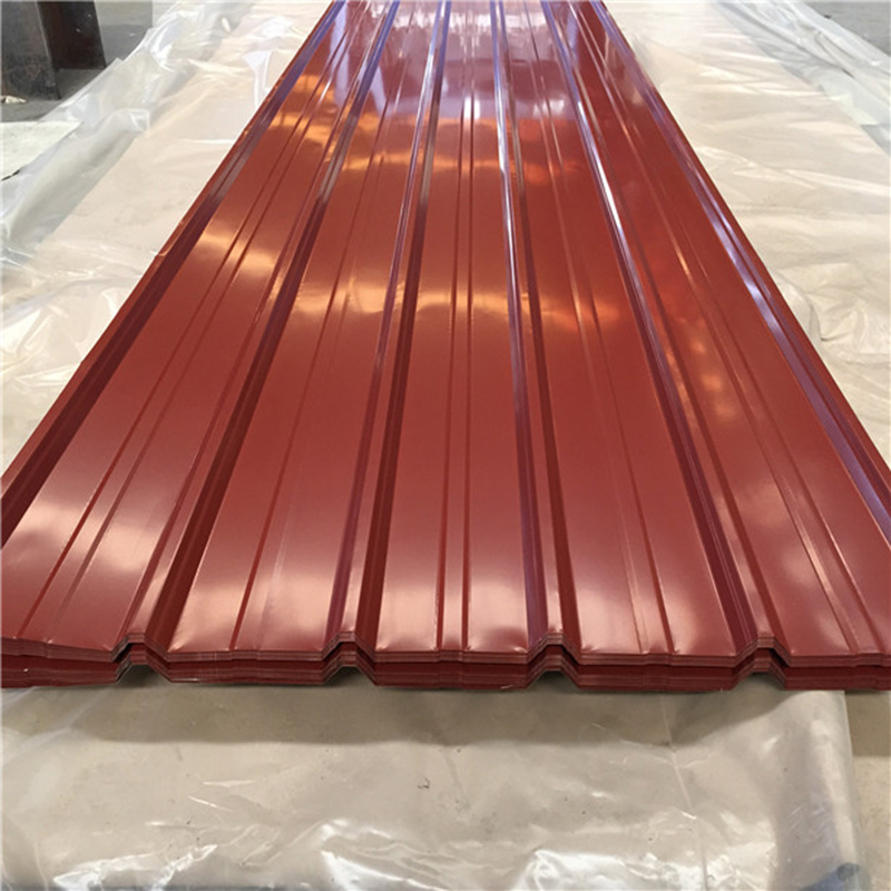 Australia Steel Building Material Prepainted Box Profiled Steel Roof Tiles