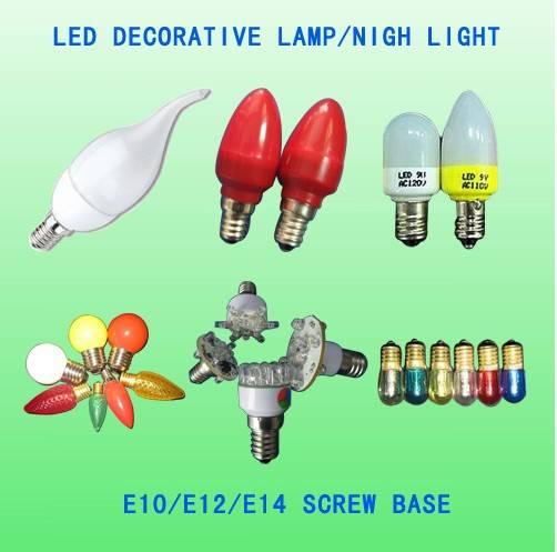 C7  C9 LED decorative christmas bulb lamp