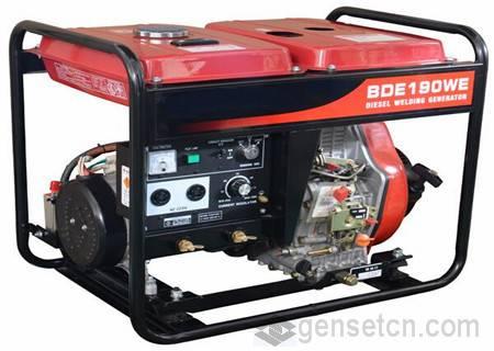 180A-300A Welding Gasoline Generator Set