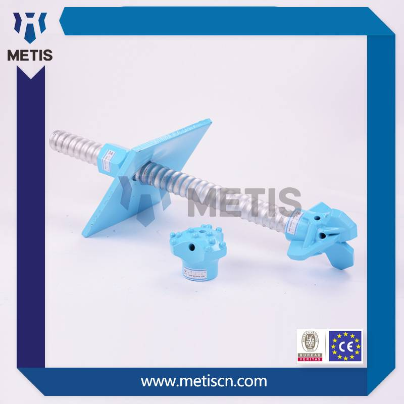 Metis high quality mining tunnel construction self drilling anchor