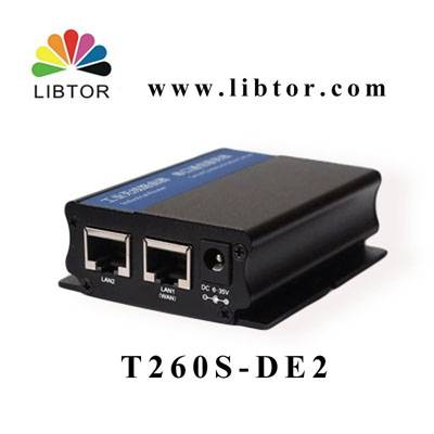 Libtor industrial 4G router  with gateway/vpn/dmz functions for monitoring IP camera