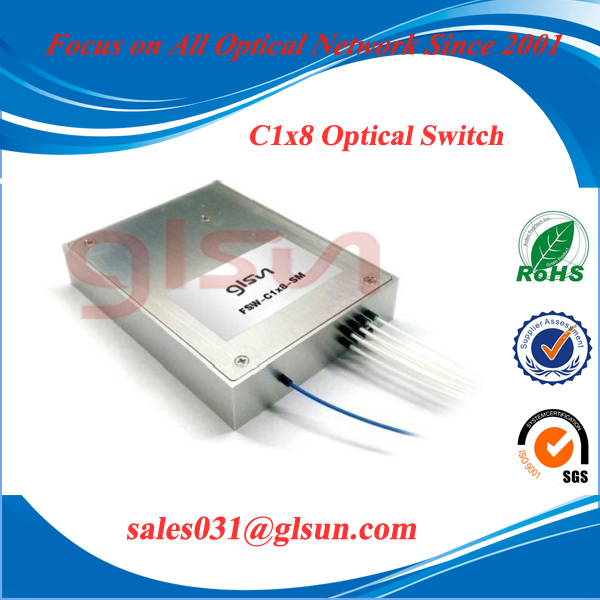 C1x8 Compact Optical Switch