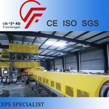 CO2-Parallel-Twin Screw XPS Foam Board Line, Extruded Polystyrene Machine