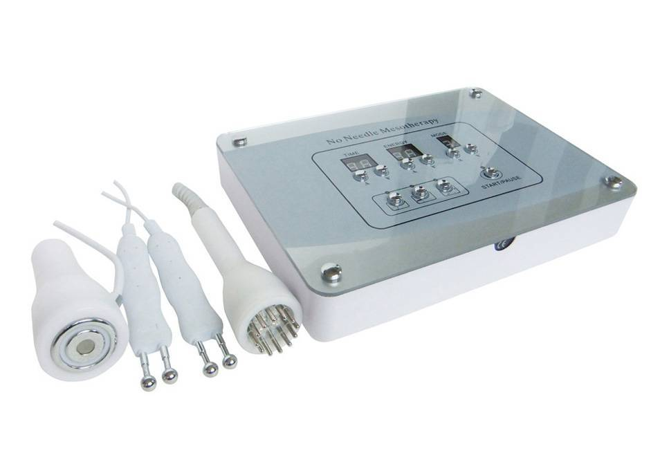 Bio face lifting equipment with needle-free mesotherapy