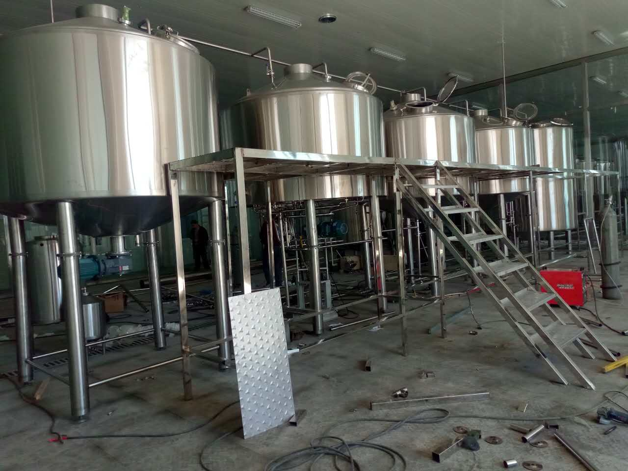 Hoalu small beer brewery equipment