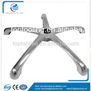 Office chair furniture foot frame with injection mould