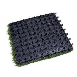 #408818-XO Tile With PE Foam Interlocking Artificial Grass supplier
