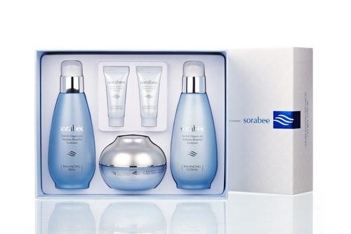 Sorabee balancing  skin care set