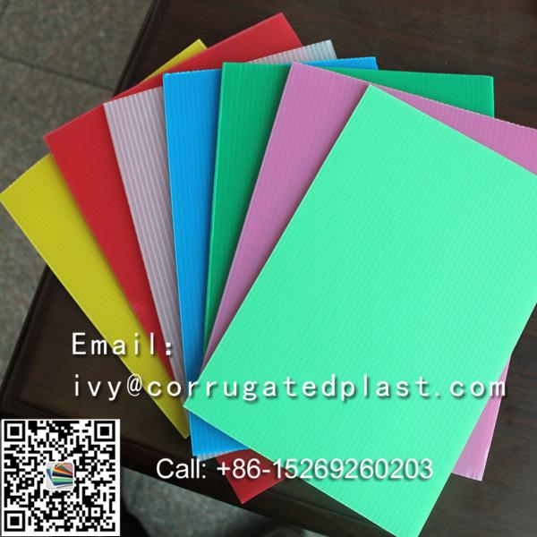 Plastic Corrugated Sheets fire retardant floor protection sheet