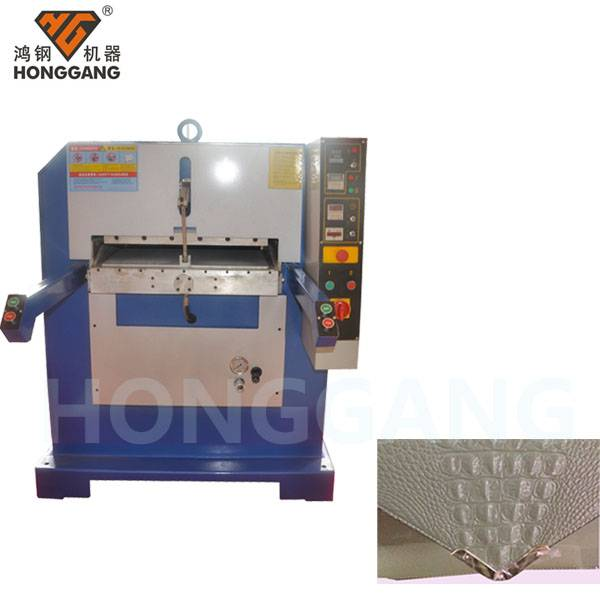 leather embosser machine