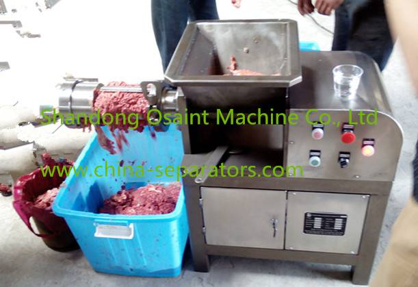 High quality chicken meat separator machine