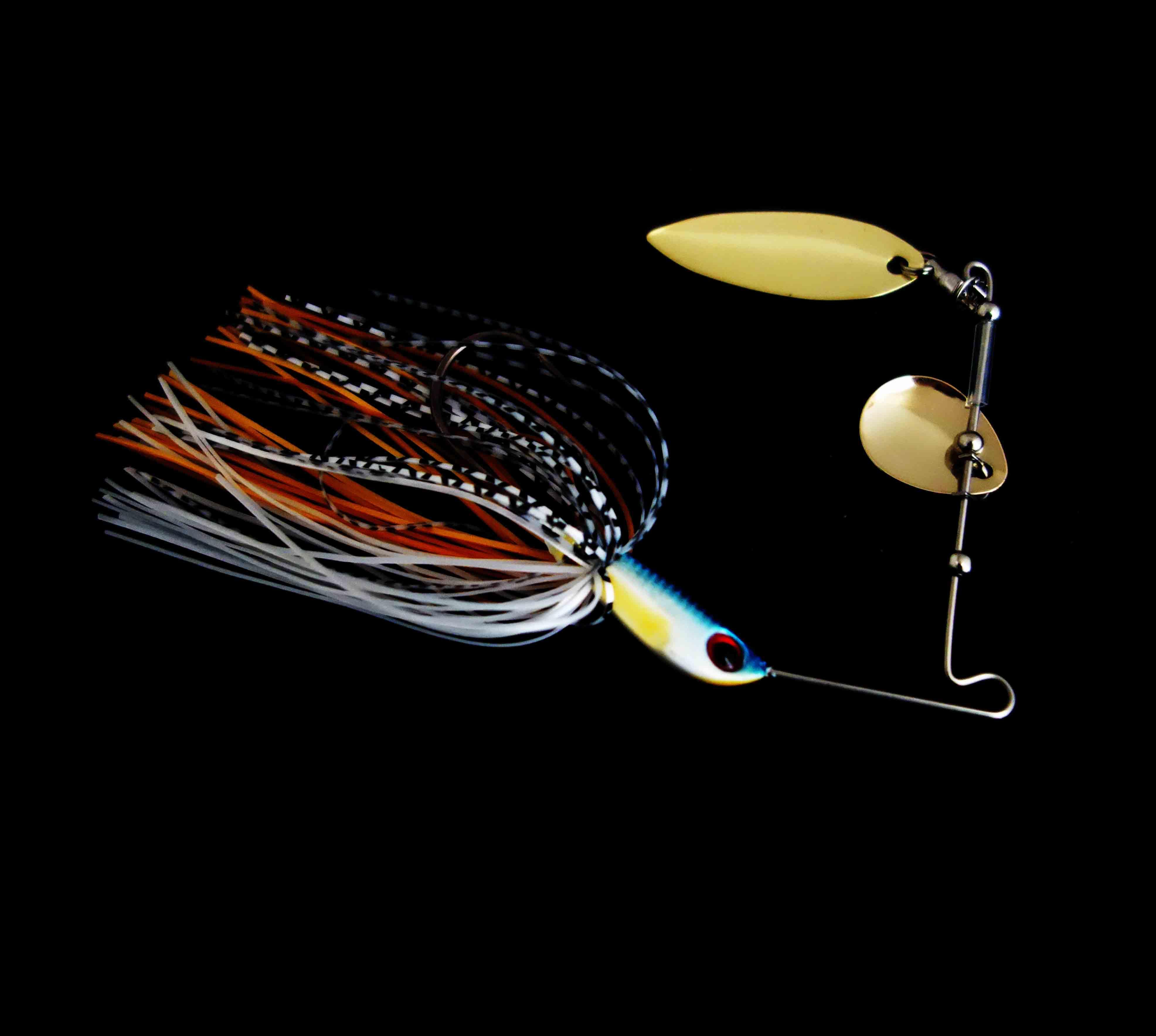 willow and Colorado Bladed Spinner bait
