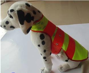 Led flashing dog clothes