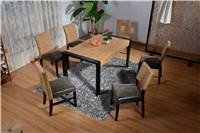 leisure rattan dining table and chairs