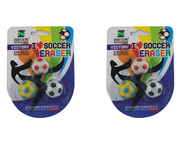 Novelty Stationery Soft Erasers for School Children