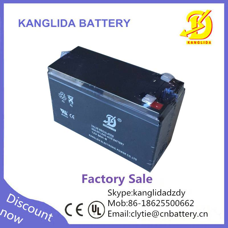 kanglida 12v 9ah battery lead acid for ups